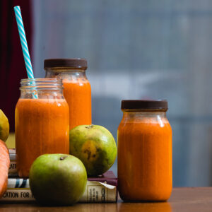 juice on a table in what you need to know about detoxing